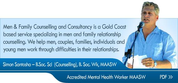 Simon Santosha – B.Soc. Sci  (Counselling), B. Soc. Wk, MAASW